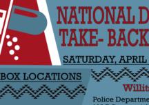 National Prescription Drug Take-back Day