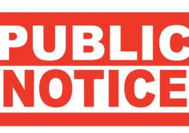 ICDB Public Notice
